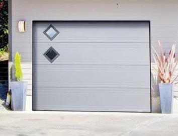 Comment poser une porte de garage sectionnelle?